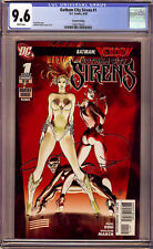 Gotham City Sirens #1 CGC 9.6 Second Print, 2nd print had a very low print run!