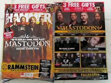 METAL HAMMER + Free CD April 2017 MASTODON Ghost RAMMSTEIN Machine Head + POSTER