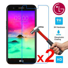 2x 9H Premium Tempered Glass Screen Protector Film For LG K3 K4 K5 K8 K10 2017