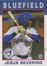 2016 Bluefield Blue Jays Jesus Severino RC Rookie Toronto