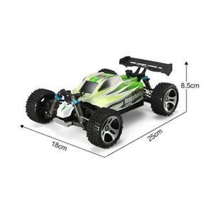 Off Road Racer Buggy Very Fast 70KM/H 1:18 Scale RTR 4WD RC Car Electric Green