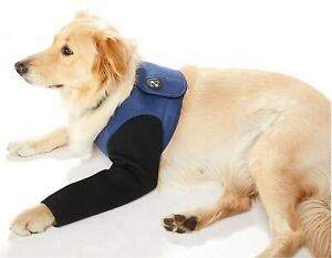 Coodeo Dog Recovery Suit, Cone Collar Alternative Abrasion Resistant Sleeve