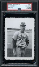 Duke Snider 1948 Brooklyn Dodgers Type 1 Original Photo PSA/DNA