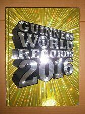 GUINNESS WORLD RECORDS 2016 Mondadori Libro