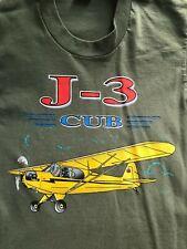 Piper Cub J-3 Aircraft T-Shirt Airplane