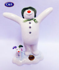 John Beswick various Snowman figurines,   Free Wade Whimsie with each purchase!