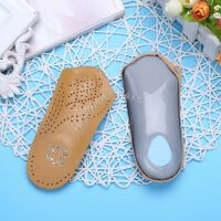 1 Pair Women's Plantar Fasciitis 3/4 Orthotic Arch Support Heel Cushion Insole