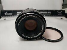 Vintage Konica Hexanon AR 50mm F1.8 Camera Lens