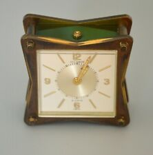 Vintage and Rare Alarm Clock, JAEGER - LECOULTRE, 69, Swiss Made Luxury Product
