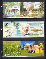 Jersey- Mint Nh - 6 Modern Souvenir Sheets between Scott 974 / 1091 (Cv $42.25)