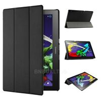 "Smart Case Cover & Glass Screen Protector For Lenovo Tab 3 10.1"" Tablet TB-X103F"