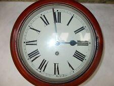 More details for superb antique school clock
