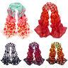 EG_ Dot Girls Women Long Soft Wrap Shawl Silk Chiffon Scarf Warm Stole Scarves N