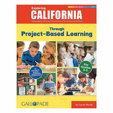 State Studies Project Based Learning Book - California - Educational - 1 Piece