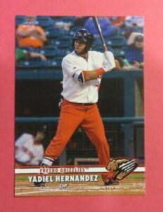 2019 Choice, Fresno Grizzlies - YADIEL HERNANDEZ - Cuba