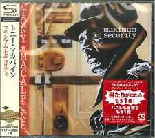 TONY MACALPINE-MAXIMUM SECURITY-JAPAN  SHM-CD D50