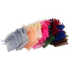 108 piezas lazo Organza joyería bolsa bolsas TM