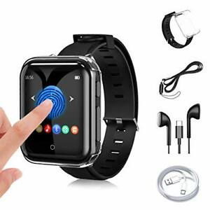 32G MP3 Player JBHOO MP3 with Bluetooth 5.0, Music Player with Watch Band, FM