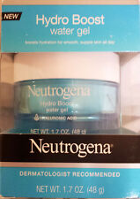 Neutrogena Hydro Boost Water Gel, NIB, 1.7 oz., with HYALURONIC ACID, unisex