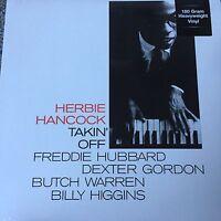 HERBIE HANCOCK - TAKIN / TAKING OFF 180g VINYL LP ALBUM BRAND NEW SEALED