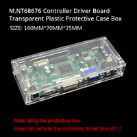 LED/LCD controller board transparent plastic protective case For M.NT68676 drive