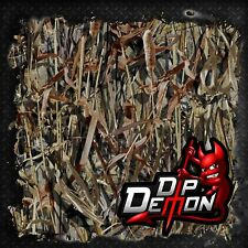 TRUE TIMBER FLOODED DUCK BLIND CAMO FILM HYDROGRAPHIC WATER TRANSFER HYDRO DIP