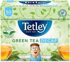 TETLEY DECAF PURE GREEN 50 TEA BAGS