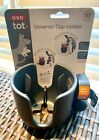 NEW+OXO+Tot+Universal+Cup+Holder+Accessory+Black+Fit+Any+Stroller+Golf+Cart