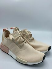 New Women Adidas NMD R1 EE 5179 Peach Pink White Shoes Size 10.5