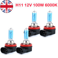 4* H11 711 100w Super Bright White Xenon Headlight Front Fog Drl Bulb Lamp 12v