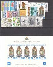 San Marino 1977 Annata Completa 26 v. + foglietto **