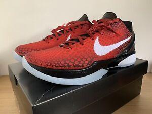 Nike Kobe 6 Protro Challenge Red - DH9888-600 - UK10.5 US11.5 EU45.5
