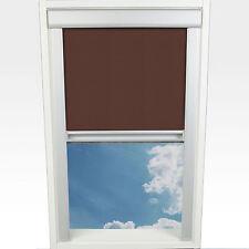 Liedeco Dachfensterrollo M. Seitl. Führungsschiene 38 3 X 54 0 Cm Fb. braun