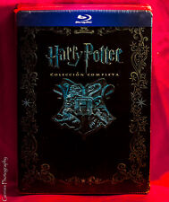 Harry Potter Complete Collection Blu-ray Steelbook Box Set [Import] Rare