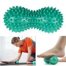 Green Peanut Points Hand Foot Massage Ball Roller Body Trigger Point Massager WR