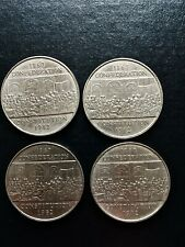 LOT OF 4...1982 Canada One Dollar (Constitution 1867-1982) Coin  Very nice!