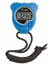 New Champion All Sports Walking Running Stopwatch Timer Daily Alarm, Royal Blue