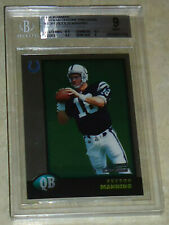 1998 Bowman Chrome Preview Peyton Manning Rookie BGS Graded 9 #BCP1 Colts RC