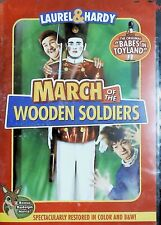 Laurel And Hardy March Of The Wooden Soldiers DVD New And Sealed