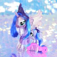 My Little Pony Glitter Celebration PRINCESS LUNA Moon Crown Comb G4.5 MLP BA831