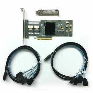 LSI 6Gbps SAS HBA 9220-8i  IT Mode ZFS FreeNAS unRAID +  2PCS SFF-8087 SATA US