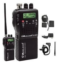 Brand New Midland 75-822 40 Channel Cb-Way Radio w/Mobile Converter Kit