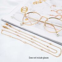 Crystal Glasses Chain Eyeglasses Chain Cord Sunglasses Holder Accessories d