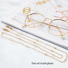 Crystal Glasses Chain Eyeglasses Chain Cord Sunglasses Holder Accessories KNJ