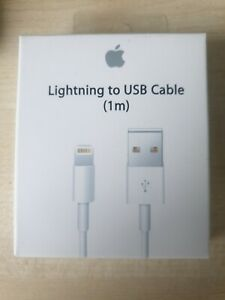 3X APPLE  iPhone Charger Cable 1M Charging Lead Lightning To USB Cable