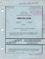 """F-111A, F-111B """"Aardvark"""" Landing Gear Systems Parts Catalog Flight Manual - Cd"""