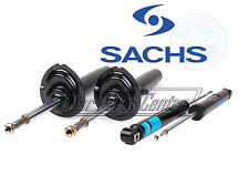BMW E46 M3 3.2 FRONT + REAR SHOCK ABSORBER STRUTS SHOCKERS SACHS GERMANY OEM