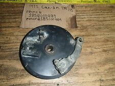 Can Am 175 TNT 1975 rear brake plate I have more parts  for this bike/others