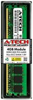 A-Tech 4GB PC2-6400 Desktop DDR2 800 MHz Non ECC 240pin DIMM Memory RAM 4G 6400U