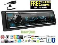 KENWOOD KMM-BT325U 1-DIN CAR USB DIGITAL MEDIA MECHLESS BLUETOOTH RADIO STEREO